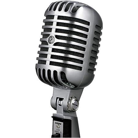 Micrófono Vocal Iconic Unidyne 55SH Serie II