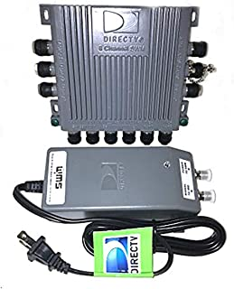 DirecTV SWM8 Multiswitch With 29V Power Supply Combo Kit by MN Nice