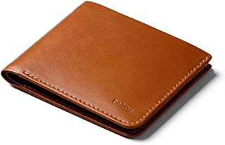 Bellroy Square Wallet, slim leather wallet (Max. 12 cards and flat bills)