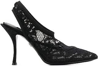 DOLCE E GABBANA Luxury Fashion Womens CG0323AJ31680999 Black Heels | Fall Winter 19