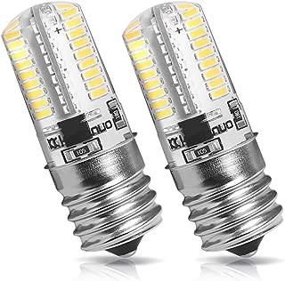 Kakanuo E17 LED Bulb Microwave Oven Light Dimmable 4 Watt Warm White 3000K (Pack of 2)