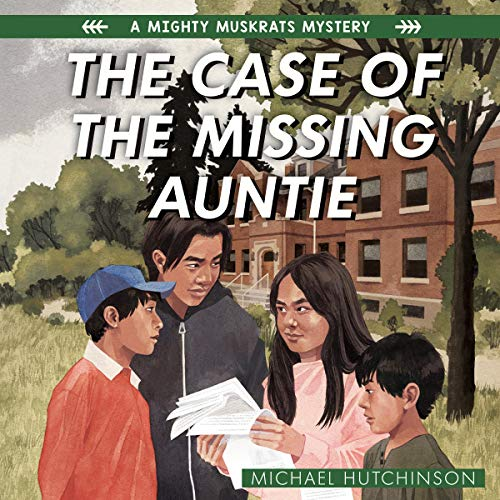 The Case of the Missing Auntie cover art