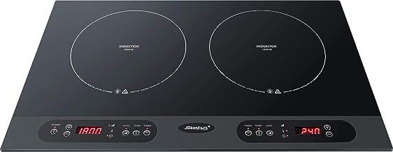 Steba 06.71.00 - Hornillo eléctrico, 3100 W, color negro ...