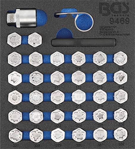 BGS 9469 | Jeu d'outils de réglage pour Mercedes | 35 pièces
