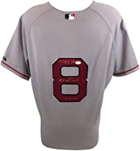 Carl Yastrzemski Autographed Signed Red Sox Authentic Gray Majestic Jersey Tc67 Hof89 - JSA Authentic