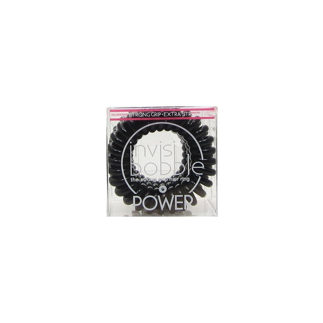 類似性カンガルー階Invisibobble Power Hair Ring True Black [並行輸入品]