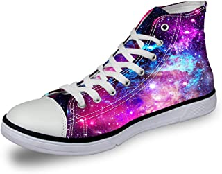 high top galaxy shoes