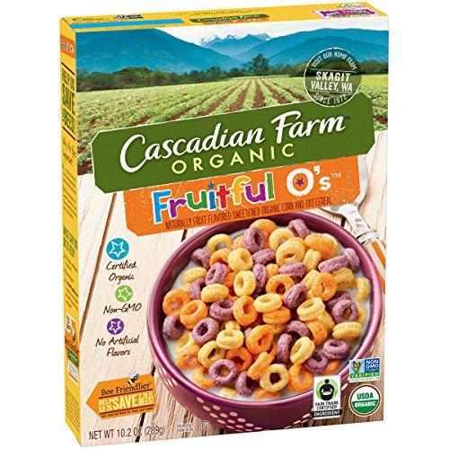 CASCADIAN FARM CEREAL FRUITFUL O, 10.2 OZ
