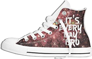 It's EverydayBro High Top Sneaker Canvas Shoes Men Women Casual Shoes