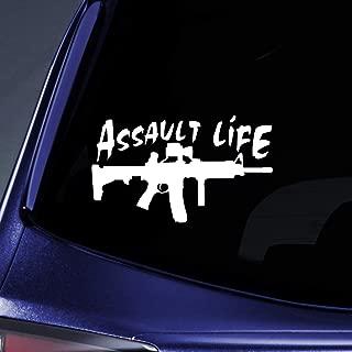 Bargain Max Decals - Assault Life Sticker Decal Notebook Car Laptop 8