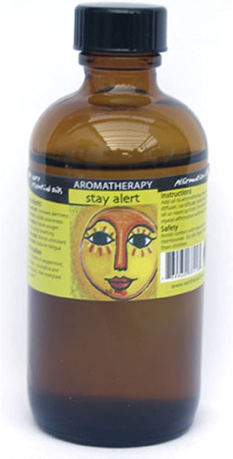 Earth Solutions shop Affirmation Oil 4oz Stay Alert Save money Aromatherapy