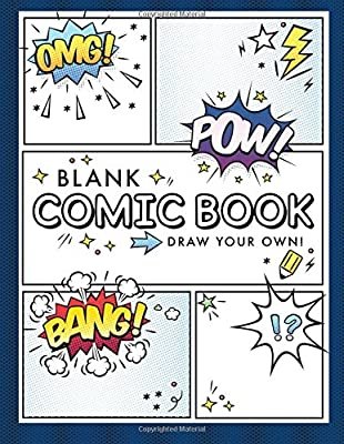 Blank Comic Book (Draw Your Own Comics): A Large Notebook and Sketchbook for Kids and Adults to Draw Comics and Journal from CreateSpace Independent Publishing Platform
