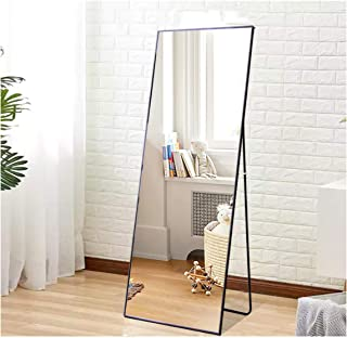 Beauty4U Full Length Mirror Floor Mirror Wall-Mounted Hanging Standing Mirror with..