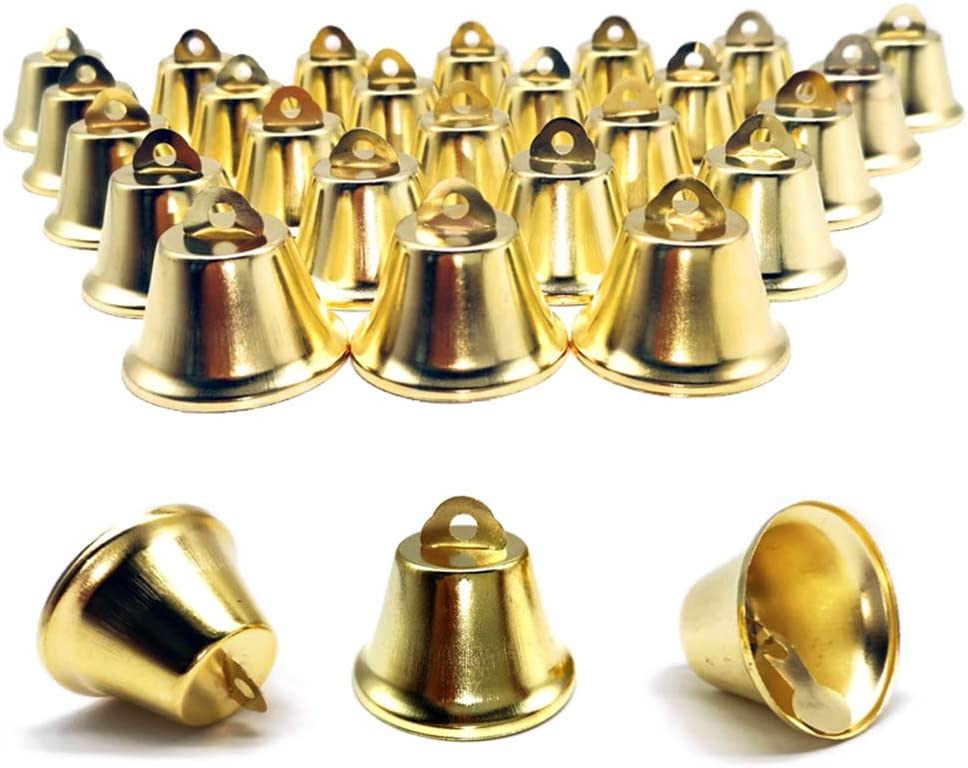 Small Liberty Bell 70% OFF Outlet Christmas OFFicial site Ornament Gold Bells Craf for Jingle