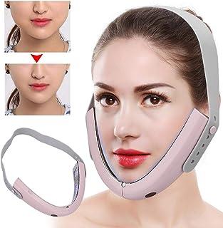 Elektrische microstroom Face Slimming Massager Intelligente infraroodafstandsbediening Heet kompres Face-Lifting V-Face Sh...