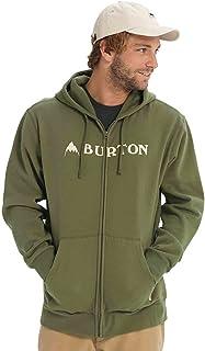 Sweater Hooded Zip Men Burton Horizontal Mountain Zip Hoodie 海外卖家直邮