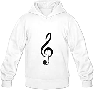 Music Symbol Fashion Casual Long Sleeve Sweatshirts For Adult