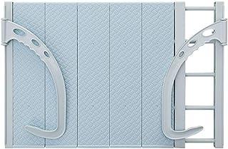 WEHQ Airers Ropa, Ropa del radiador Tendedero con 5 Bares Ropa de Secado de Toallas de Almacenamiento Ajustable para Colgar Ancho de Rack Interior o Exterior