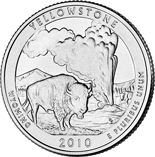 2010 P Yellowstone National Park – P 40 Coin Bankroll Uncirculated