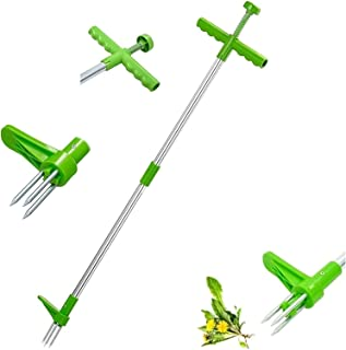 مزيل الحشائش الوقائي مع أدوات إزالة الأعشاب الضارة من الفولاذ المقاوم للصدأ بمخالب من الفولاذ المقاوم للصدأ