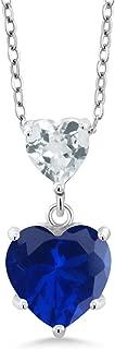 Best aquamarine and sapphire pendant Reviews