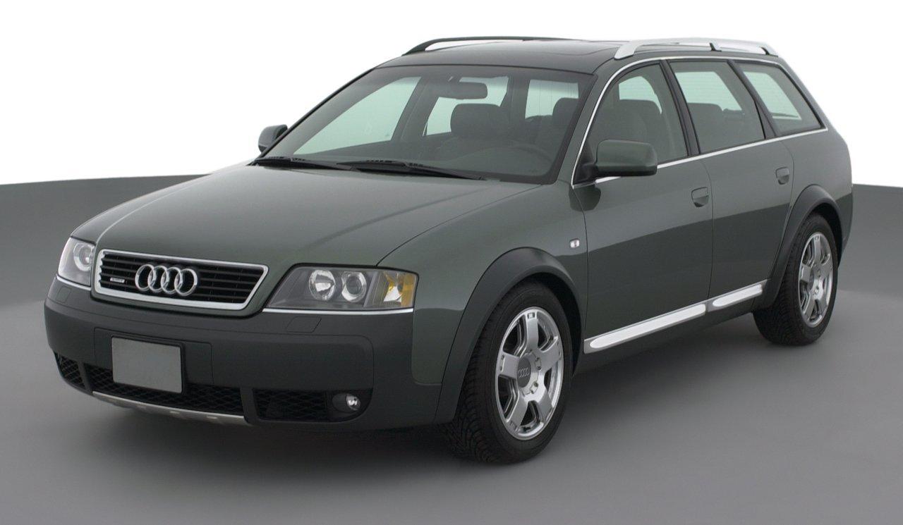 2002 Audi Allroad Quattro, 5-Door quattro All Wheel Drive Automatic Transmission ...