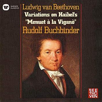 """Beethoven: 12 Variations on Haibel's """"Menuet à la Viganò"""", WoO 68"""