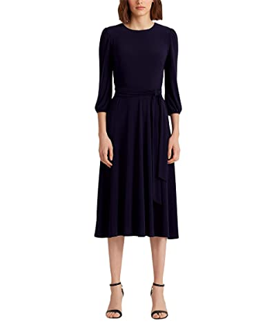 LAUREN Ralph Lauren Belted Jersey Dress Women