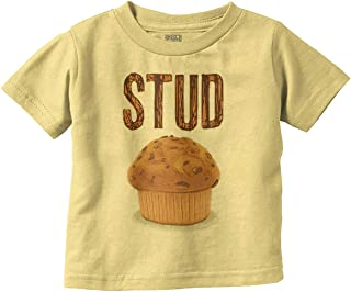 Stud Muffin Handsome Adorable Newborn Baby Toddler T Shirt