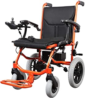 Sillas de ruedas eléctricas para adultos Silla de ruedas ligera for adultos, ancianos y discapacitados Silla de ruedas eléctrica Drive litio silla más compacta fuente más ligero con el Manual de hasta