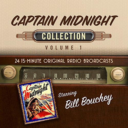 Captain Midnight, Collection 1 audiobook cover art
