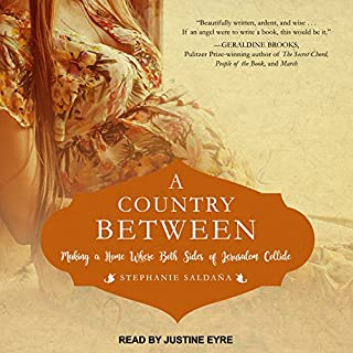 A Country Between audiobook cover art
