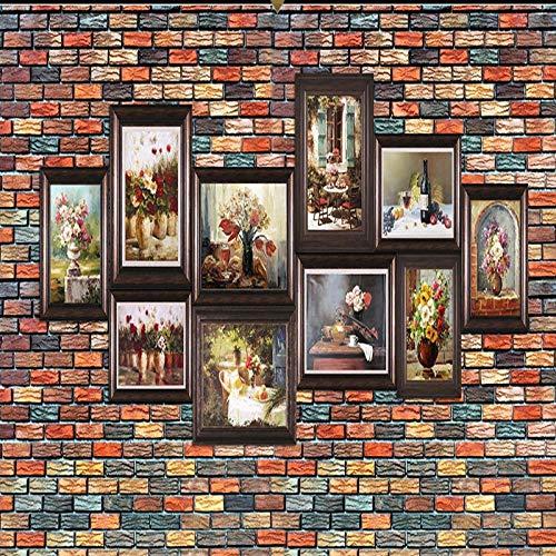 Fotobehang, tegels, wanddecoratie, posters, wandfoto, breed, behang, foto, wand, 3D -350cmx245cm