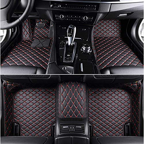 LUVCARPB Alfombrillas Interiores del Coche, aptas para Audi A3 Sportback A5 Sportback TT A1 A2 A3 A4 A5 A6 A7 A8 Q3 Q5 Q7, Accesorios Impermeables para alfombras de Coche