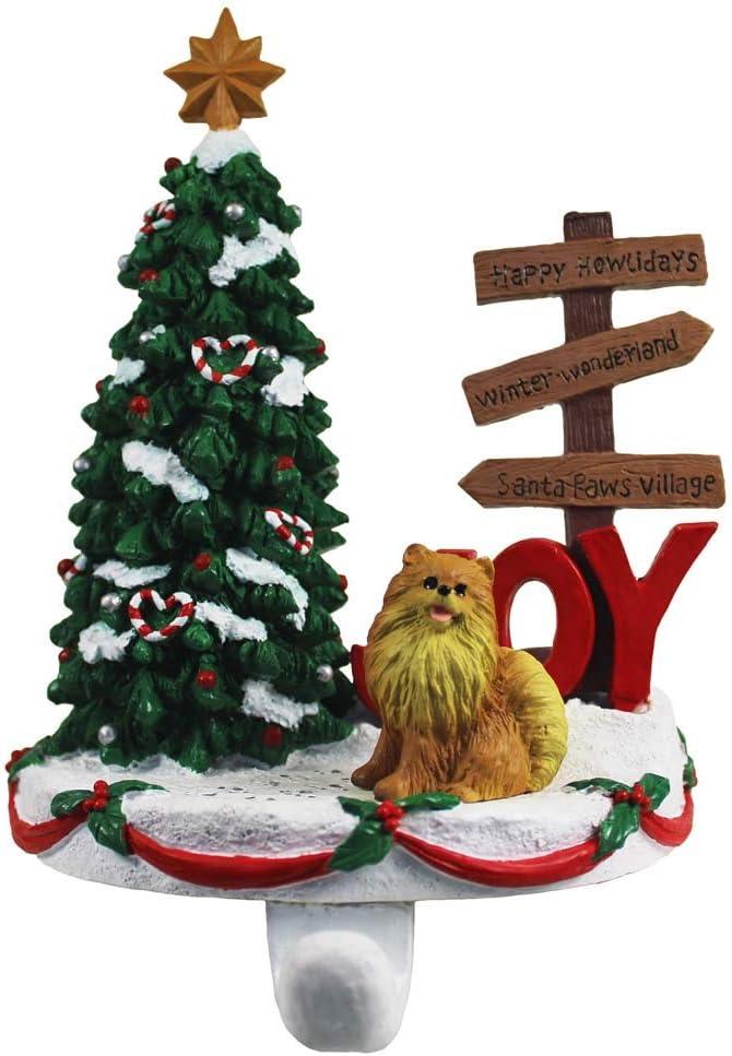 DogLoverStore Pomeranian Stocking Manufacturer direct delivery Hanger Ranking TOP9 Holder Red