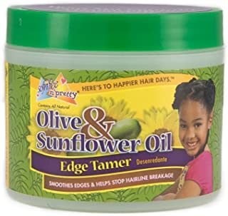 Sofn'Free n'Pretty Olive and Sunflower Oil Edge Tamer, 4 Ounce