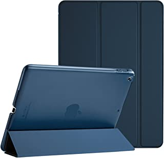 ProCase Funda iPad 97 6.ª 2018/5.ª 2017 Estuche Delgado Ligero Carcasa con Soporte Tapa Inteligente Reverso Translúcido para Apple iPad 97 Pulgadas –Azul Marino