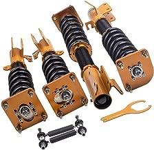 Coilovers Kit for Mazda 323 1999-2003 Adj. Damper Coil Springs Struts w/z Shocks