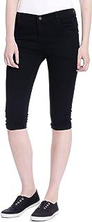 ROOLIUMS Women's Slim Fit Capri
