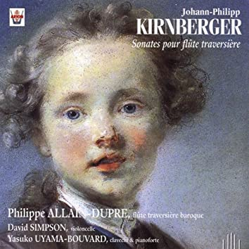 Kirnberger : Sonates pour flûte traversière