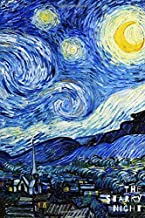 The Starry Night: Blank Notebook Unruled - Original Artwork by Vincent van Gogh (1889)