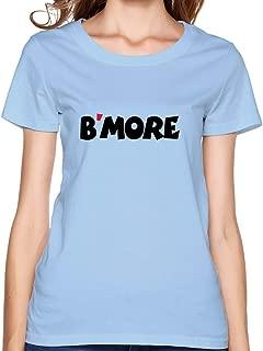 Women B'more T-shirt,SkyBlue T-shirts By HGiorgis