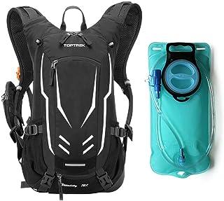Mochila para bicicleta de 18 litros, ultraligera, con protección para la lluvia y cubierta para casco, mochila de hidratación impermeable para ciclismo, mochila deportiva para hombre MTB