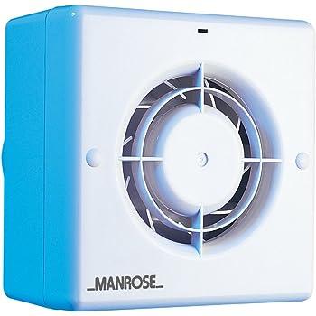 Manrose CF100T - Extractor para baño (incluye ventilador con ...