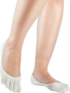 Silkroad | Calcetines invisibles y ligeros de dedos en seda