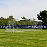 FORZA Alu60 Soccer Goal (16ft x 4ft) (Single or Pair) – Super Strong Aluminum Soccer Goal Perfect for Mini Soccer [Net World Sports] (Pair of Goals)