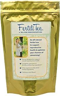 FertiliTea: Organic Fertility Tea, 60 Servings, Contains Vitex
