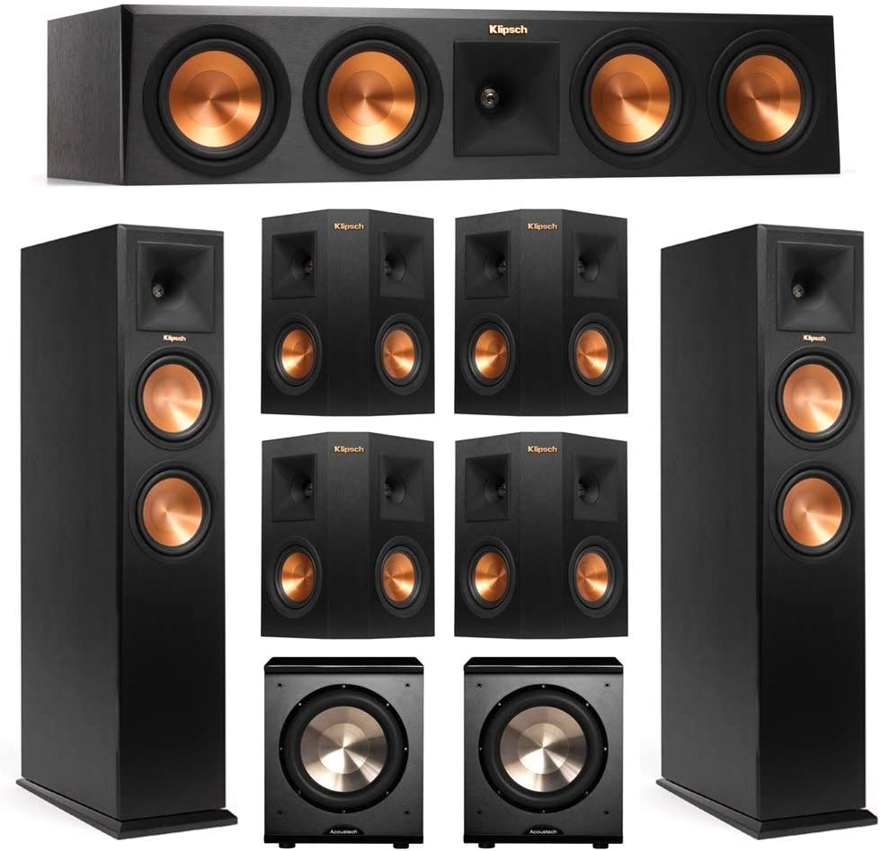 Klipsch 7.2 System with 2 RP-260F Overseas parallel import regular item Cent Tower Dallas Mall RP-450C 1 Speakers