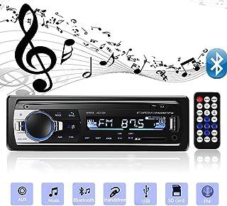 comprar comparacion Andven Autoradio Bluetooth, 4×60W Manos Libres Radio Estéreo de Coche, Apoyo de Reproductor MP3, Llamadas Manos Libres, Fu...