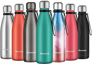Newdora Botella de Agua Acero Inoxidable 500ml, Aislamiento